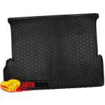 Ковер в багажник LEXUSGX-460 с 2010 (7 мест) - резиновый Avto-Gumm