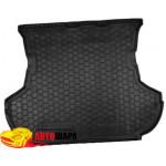 Ковер в багажник MITSUBISHI Outlander XL (2007>) (без сабвуфера) - резиновый Avto-Gumm