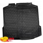 Ковер в багажник SKODA Rapid (лифтбэк) - резиновый Avto-Gumm