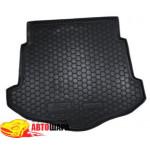 Ковер багажника FORD Mondeo lV с 2007 (лифтбэк) - резиновый Avtogumm