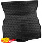 Ковер в багажник FORD Mondeo V (2015>) (лифтбэк) - резиновый Avto-Gumm