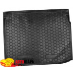 Ковер в багажник RENAULT Megane lll (2010>) (универсал) - резиновый Avto-Gumm