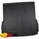 Ковер в багажник MERCEDES X 166 (GLS - class) (7 мест) - твердый - AvtoGumm