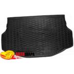 Ковер в багажник TOYOTA Rav-4 (2013>) (hybrid) резиновый - AvtoGumm