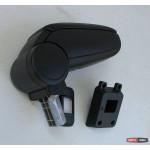Nissan Tiida подлокотник ASP черный виниловый 2009+