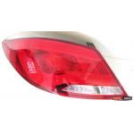 Hyundai Solaris оптика задняя светодиодная LED tube красная 2010+ - JunYan