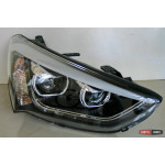 Hyundai Santa Fe 3/ IX45 оптика передняя альтернативная тюнинг, с дневными ходовыми огнями ( DRL) 2013+ - JunYan