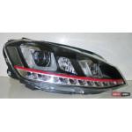 Volkswagen Golf 7 оптика передняя GTI стиль альтернативная LED 2012+ - JunYan