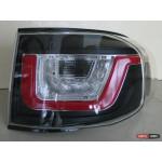 Toyota FJ Cruiser оптика задняя стиль Evoque черная / LED taillights Evoque style restyling black - JunYan