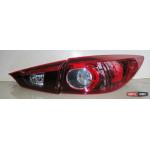 Mazda 3 Axela тюнинг фонари задние красные 2014+