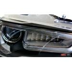 Mitsubishi Lancer X оптика передняя ксенон Audu Q5 стиль 2009+ - JunYan