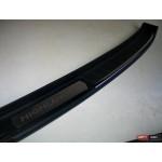Toyota Highlander XU50 2014 накладка защитная на задний бампер ABS 2014+