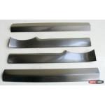 Skoda Rapid / Rapid Spaceback накладки защитные на пороги дверных проемов верхние 2013+