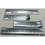 Hyundai Santa Fe 3/ IX45 накладки защитные на пороги дверных проемов верхние 2013+