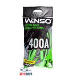 Провода-прикуриватели 400А, 2,5м, полиэтиленовий пакет - WINSO