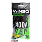 Провода-прикуриватели 400А, 3м, полиэтиленовий пакет - WINSO