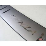 Mazda 6 Atenza накладка декоративная на задний бампер 2014+