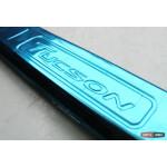 Hyundai Tucson TL 2015 накладка защитная на задний бампер наружная, тип BNK 2015+