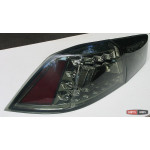 Mitsubishi Lancer X оптика задняя черная 2009+ - JunYan