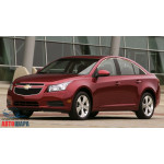 Chevrolet Cruze седан (2009-) Верхние молдинги стекол 6шт - OMSALINE