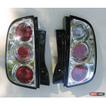 Nissan Micra - оптика задняя хром 2003+ - JunYan