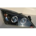 Ford Mondeo 3 оптика передняя черная 2001+ - JunYan