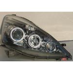 Honda Jazz/Fit оптика передняя хром 2009+ - JunYan