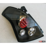 Suzuki Swift оптика задняя черная LED 2005+ - JunYan