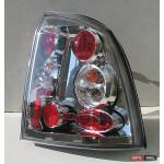 Opel Astra G оптика задняя хром 1998+ - JunYan