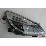 Opel Corsa D оптика передняя черная LED 2006+ - JunYan