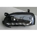 Volkswagen Golf 3 оптика передняя черная 1992+ - JunYan