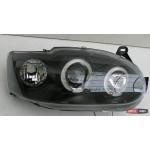 Ford Escort Mk6 оптика передняя черная 1995+ - JunYan