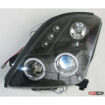 Suzuki Swift оптика передняя черная 2005+ - JunYan