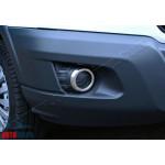 Ford Transit (2014-)  Накладки на противотуманки 2шт - OMSALINE