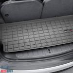 Ковер багажника  Tesla Model X 2017-, черный с 3 рядом - Weathertech