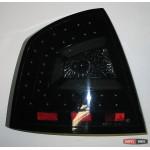 Skoda Octavia A5 седан оптика задняя LED светодиодная тонированная черная 2005+ - JunYan