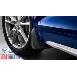 брызговики  Audi Q7 S-line (15-), передние кт. 2 шт - VAG