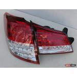 Subaru Outback B14 фонари задние светодиодные LED красные BR9 2010+