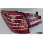 Subaru Outback B14 фонари задние светодиодные LED тонированые красные BR9 2010+