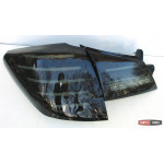 Subaru Outback фонари задние светодиодные LED тонированый хром BR9 2010+