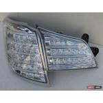 Subaru Outback фонари задние светодиодные LED хром BR9 2010+