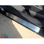 Renault Megane (1995-2002) Накладки на дверные пороги 2шт - OMSALINE