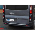 Opel Vivaro/Fiat Scudo/Renault Trafic 2015- Накладна на задний бампер - OMSALINE