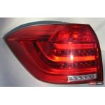 Toyota Highlander 2012 оптика задняя LED красная 2012+ - JunYan