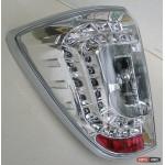 Toyota Rush / Daihatsu Terios задние светодиодные фонари LED хром 2009+