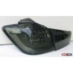Mitsubishi ASX альтернативная задняя LED светодиодная оптика черная 2009+ - JunYan
