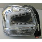 Subaru XV / Crosstrek оптика задняя светодиодная LED хром прозрачный 2011+ - JunYan