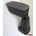 Kia Picanto 11- подлокотник Botec серый текстильный 2011+