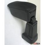 Kia Picanto 11- подлокотник Botec черный виниловый 2011+
