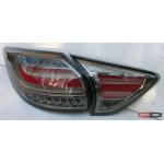 Mazda CX-5 оптика задняя тюнинг, фонари LED черно-красные / taillights CX-5 smoked red LED 2011+ - JunYan